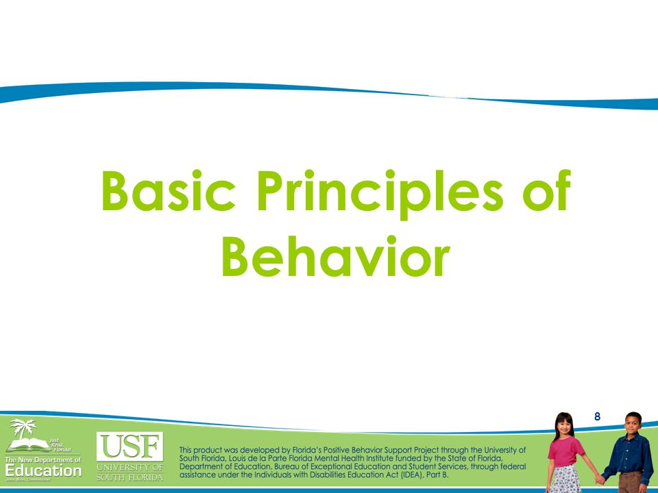 8 Basic Principles of Behavior
