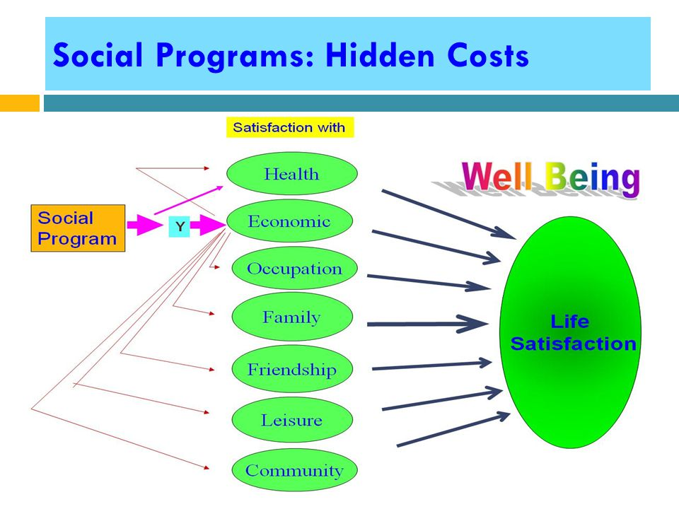 Social Programs: Hidden Costs