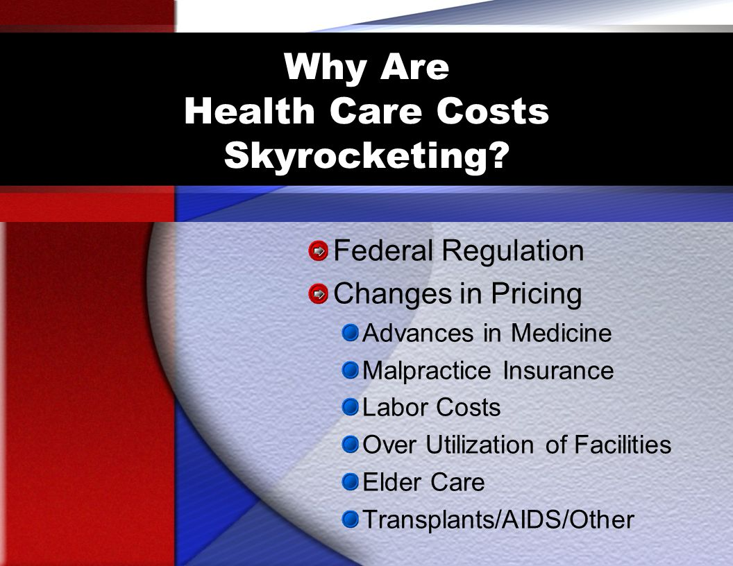 Why Are Health Care Costs Skyrocketing.