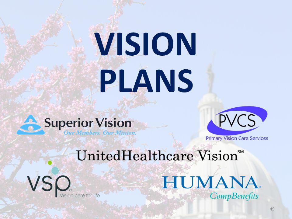 VISION PLANS 49