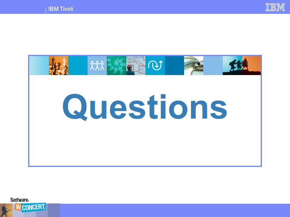 IBM Tivoli Questions