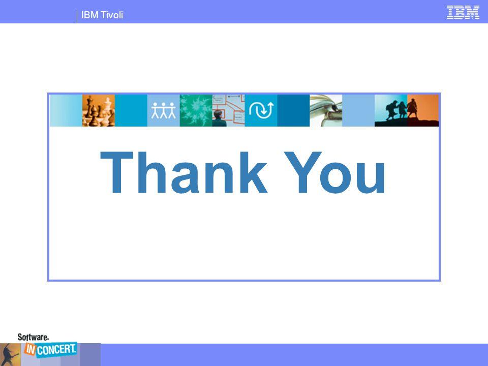 IBM Tivoli Thank You