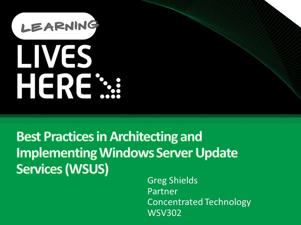 Troubleshooting WSUS