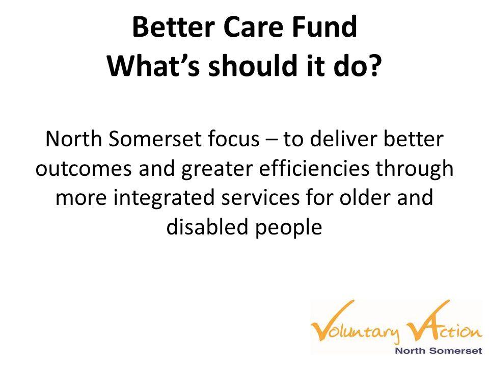 Better care fund allocations ITF AllocationsNational £m Local 14/15 £ Local 15/16 £ 1.