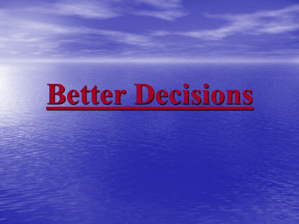 Copyright Better Decisions Inc.