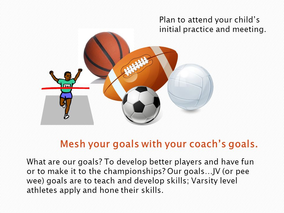 What are our goals. To develop better players and have fun or to make it to the championships.