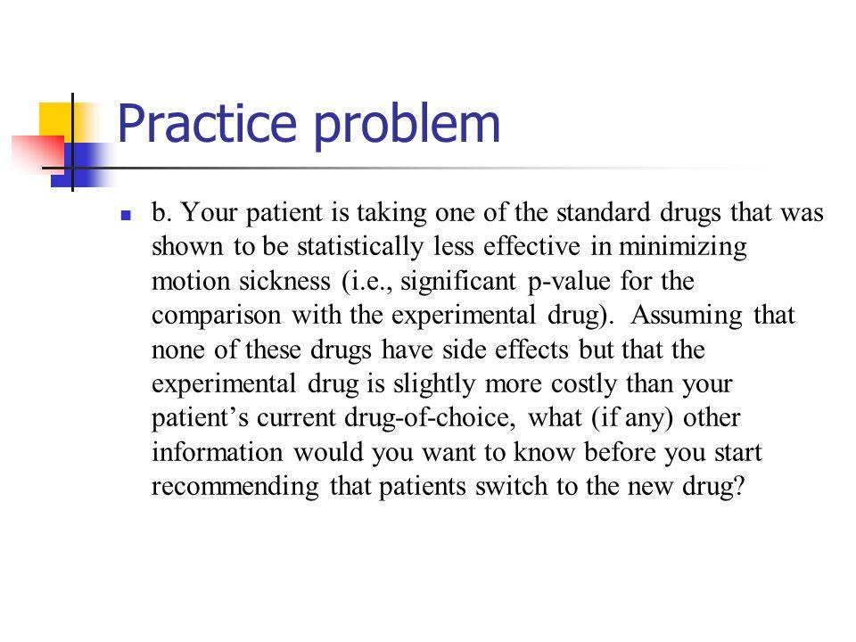 Practice problem b.