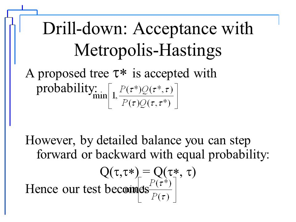 Drill-down: Enumerating topologies