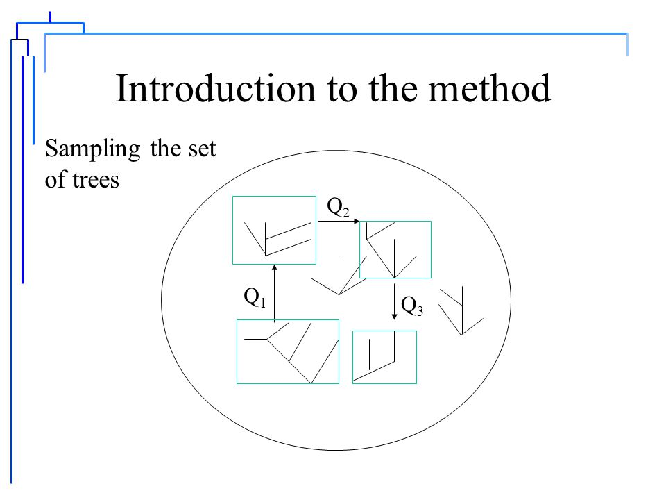 Introduction to the method   is the set of all semi-labeled trees