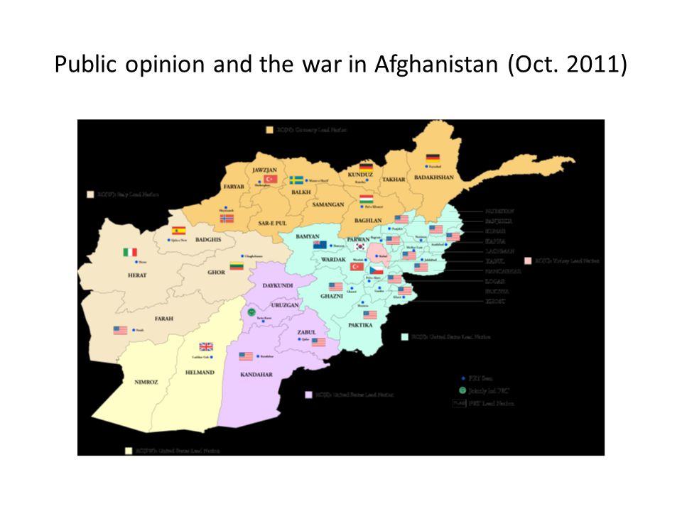 Public opinion and the war in Afghanistan (Oct. 2011)
