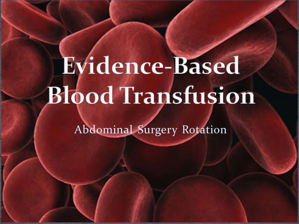 Abdominal Surgery Rotation