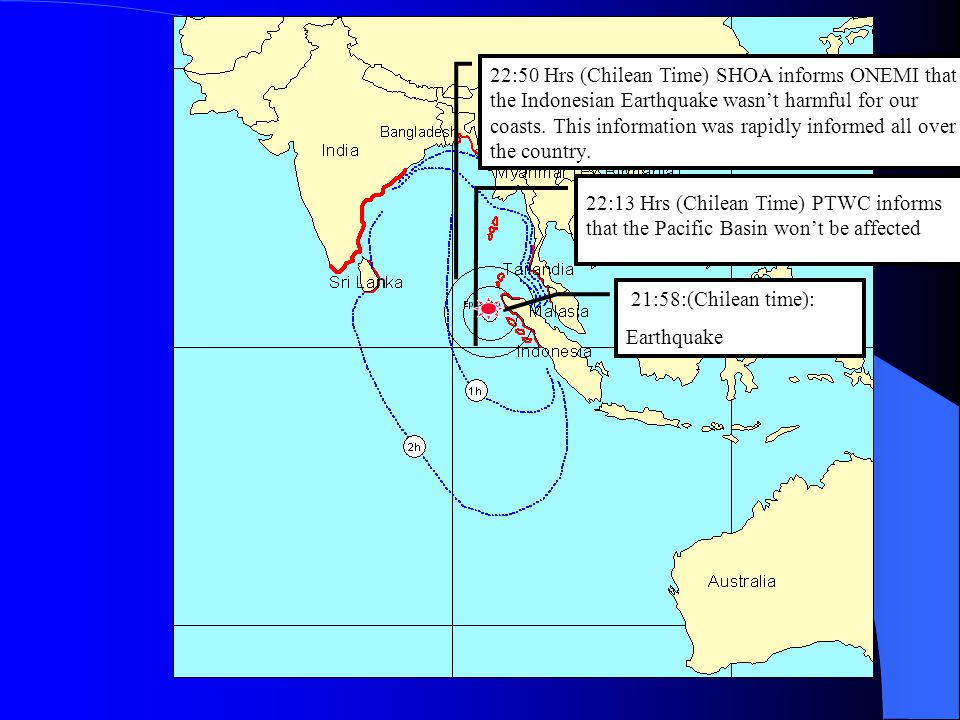 DECEMBER 26, 2004. SUMATRA EARTHQUAKE AND TSUNAMI
