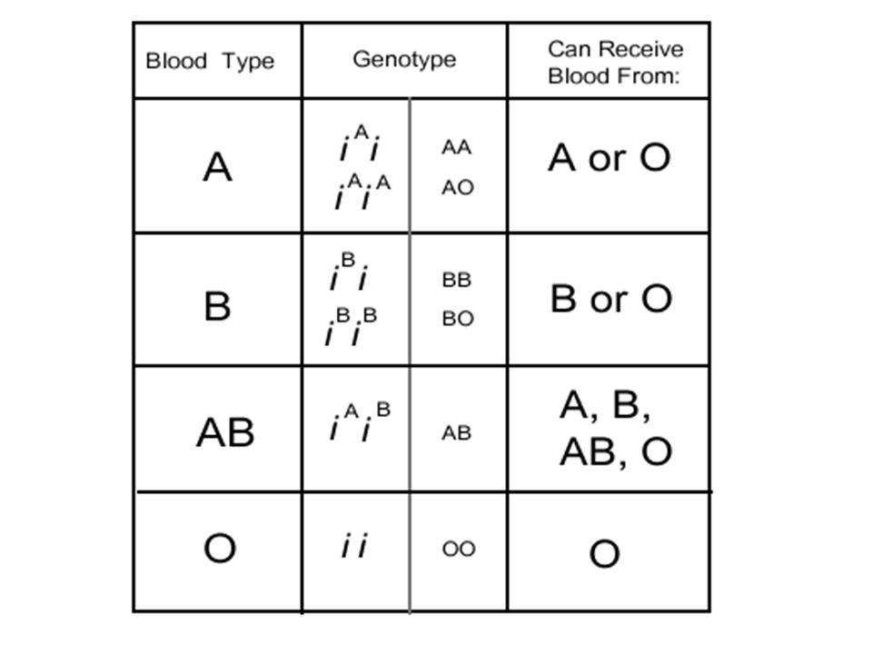 Antigens on surface Rh A