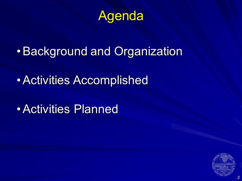 3 Background and Organization