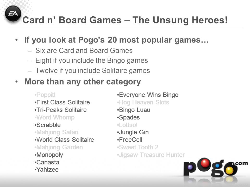 Take Advantage of Your Platform Badge, ranks, and tokens were Pogo's Blue Ocean –For a while, anyway Facebook games have defeated the Internet Dickwad problem!
