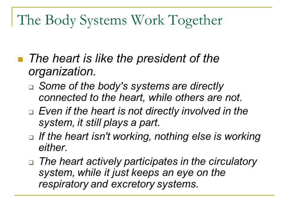 The Circulatory System The circulatory system performs many vital functions.