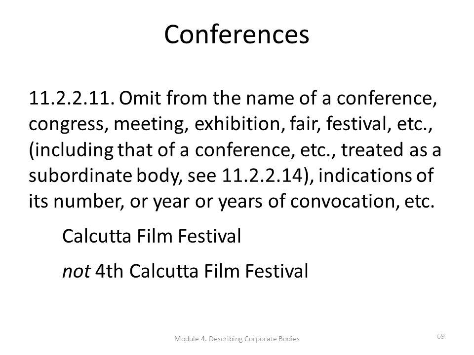Conferences 11.2.2.11.