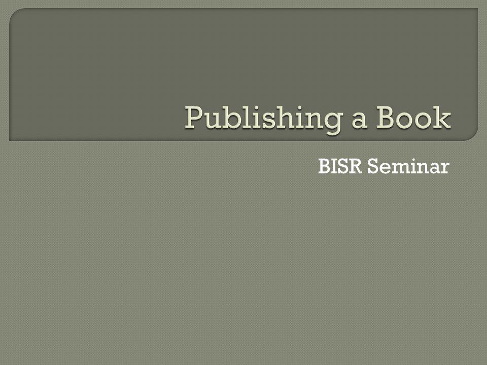 BISR Seminar