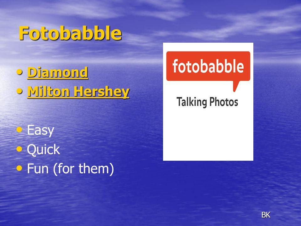 Fotobabble Diamond Diamond Diamond Milton Hershey Milton Hershey Milton Hershey Milton Hershey Easy Quick Fun (for them) BK