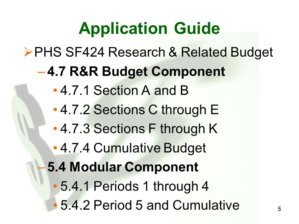 26 How is the budget used by Reviewers and Program Officials.