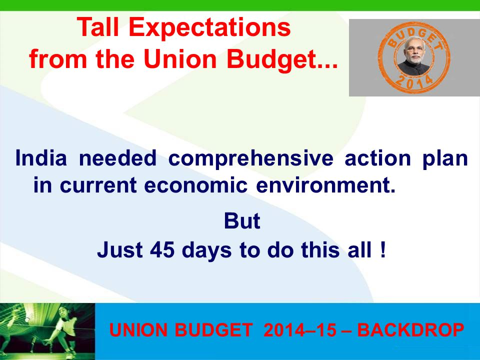 What can derail the dream UNION BUDGET 2014-15 Uncertain monsoon Situation in Iraq Global Economic disturbances