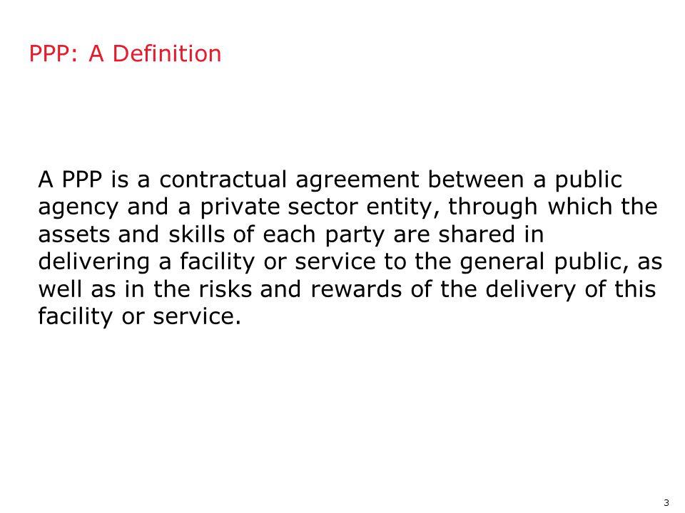 4 PPPs: The Basic Construct Customers Regulator