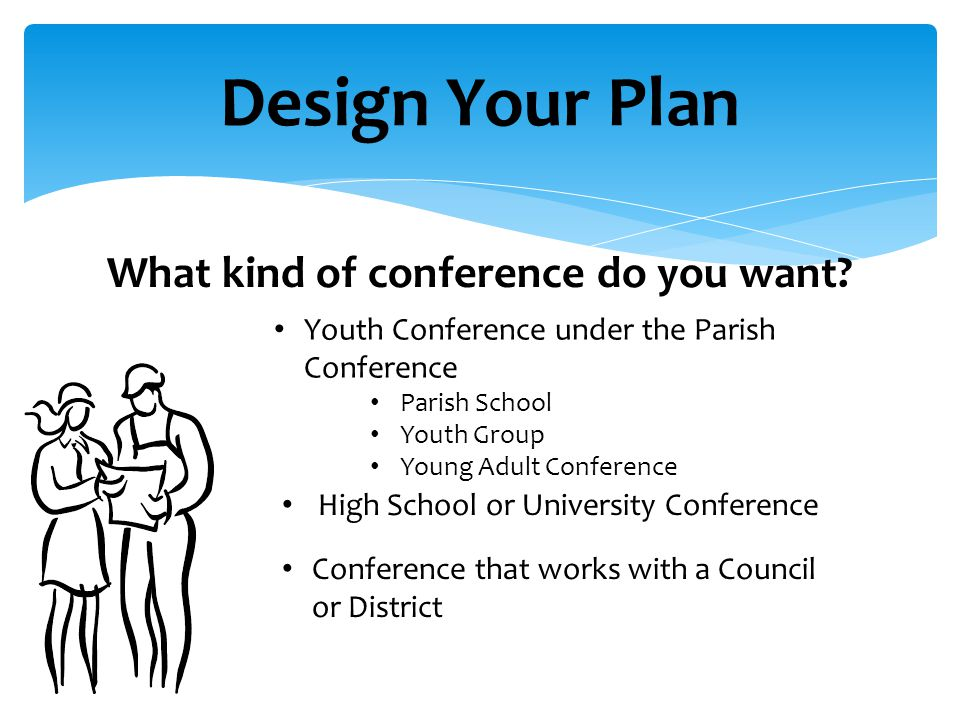 Design Your Plan What kind of conference do you want.