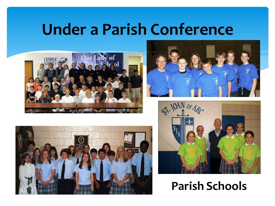 Under a Parish Conference Parish Schools