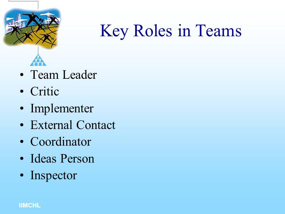 IIMCHL Indicators of Team Readiness