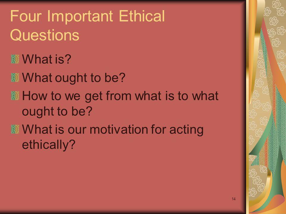 Ethics, Economics, and Law 6-14