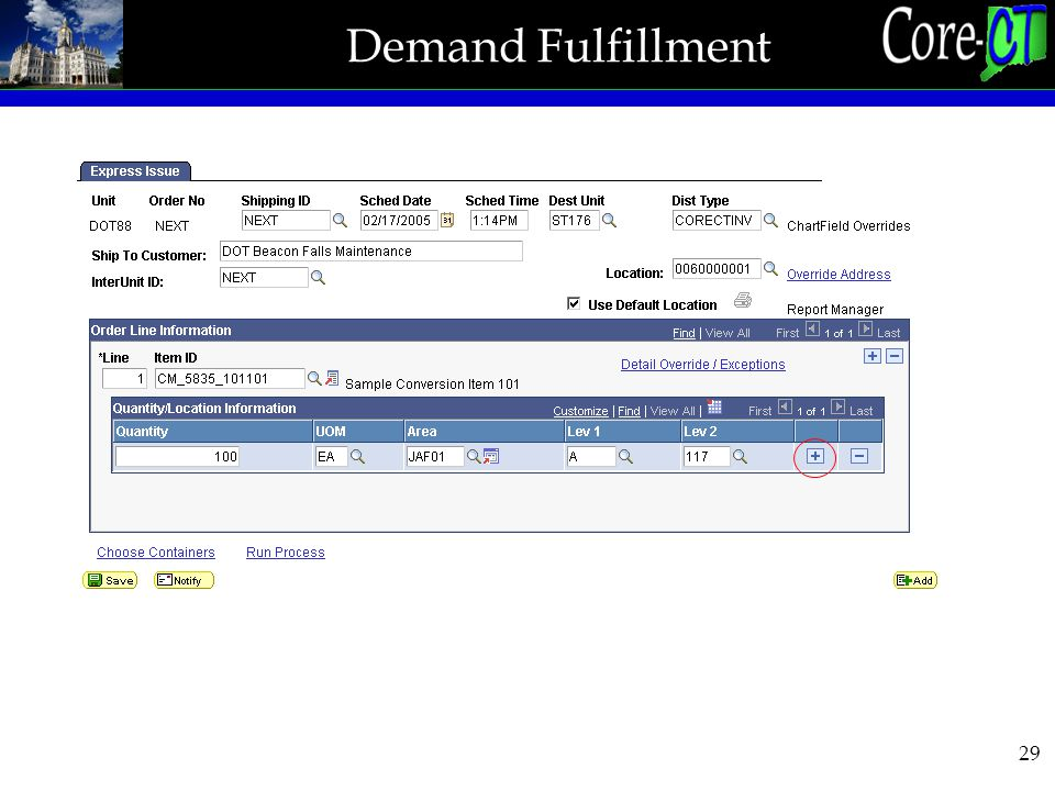 29 Demand Fulfillment
