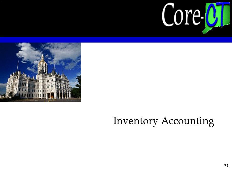 31 Inventory Accounting