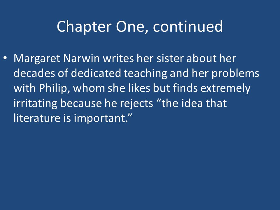 Response Topics– Chapter One What type of school administrator would organize the beginning of the day with a memo like this.
