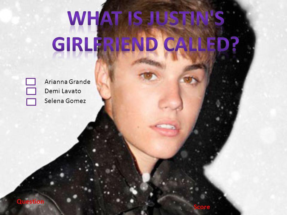 Arianna Grande Demi Lavato Selena Gomez Question Score