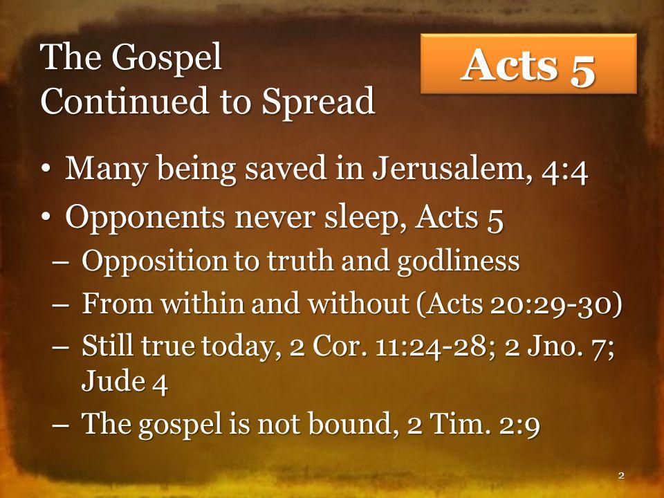 Unity of Faith and Action (Acts 4:32-37) Faith and unity, 4:32; Jno.