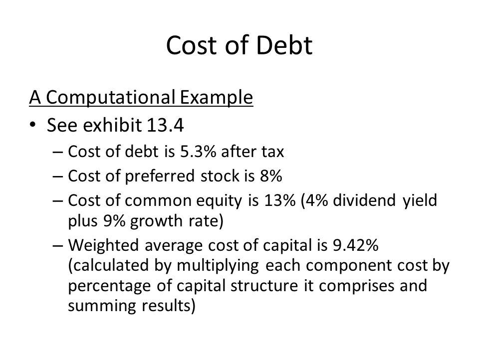 The Capital Asset Pricing Model Capital asset pricing model (CAPM): stockholders' required rate of return on equity capital is function of risk-free rate of return, rate of return earned on stocks in general ( market return ), and riskiness of particular stock in which investor may be considering investing K e = Risk-free rate + Risk premium Risk premium is determined by riskiness of particular stock relative to market and by difference between market rate of return and risk-free rate.