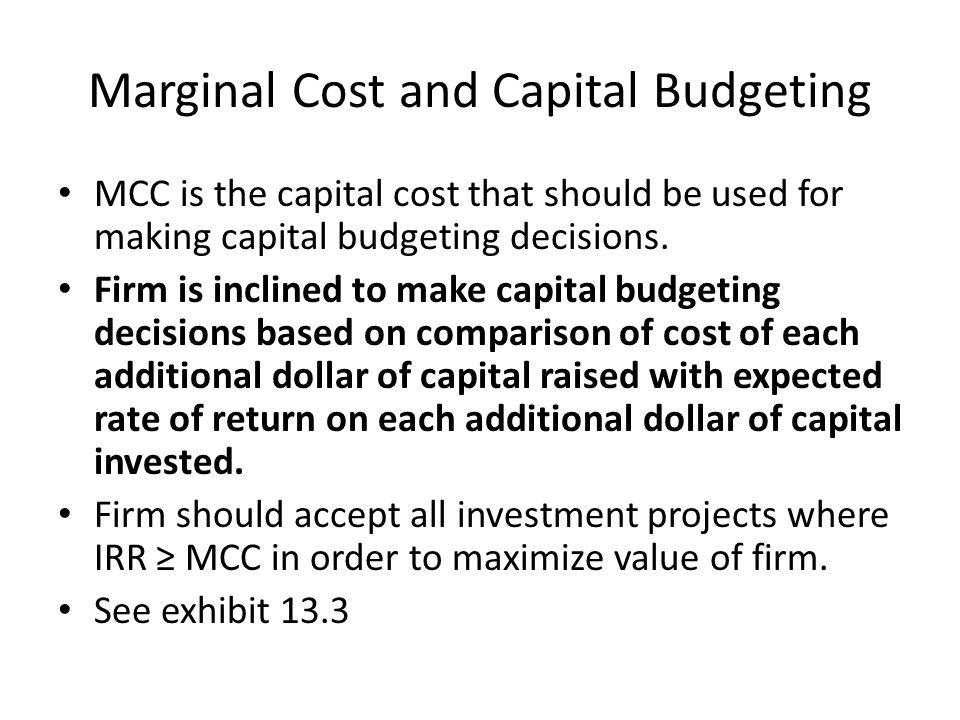 Calculating the Average Cost of Capital 1.Calculate after-tax cost of individual capital components.