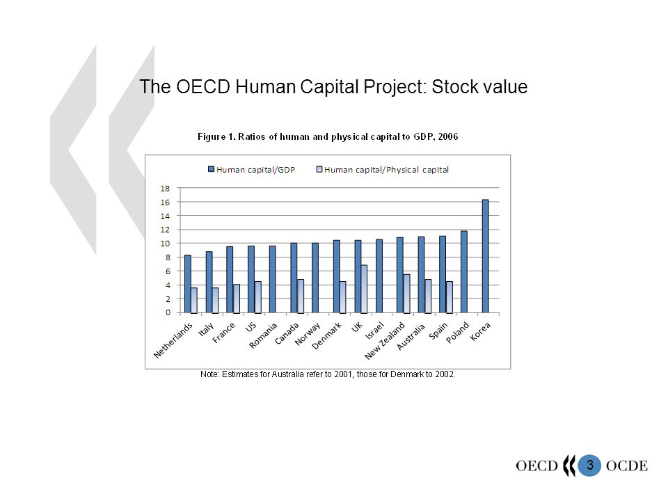 3 The OECD Human Capital Project: Stock value