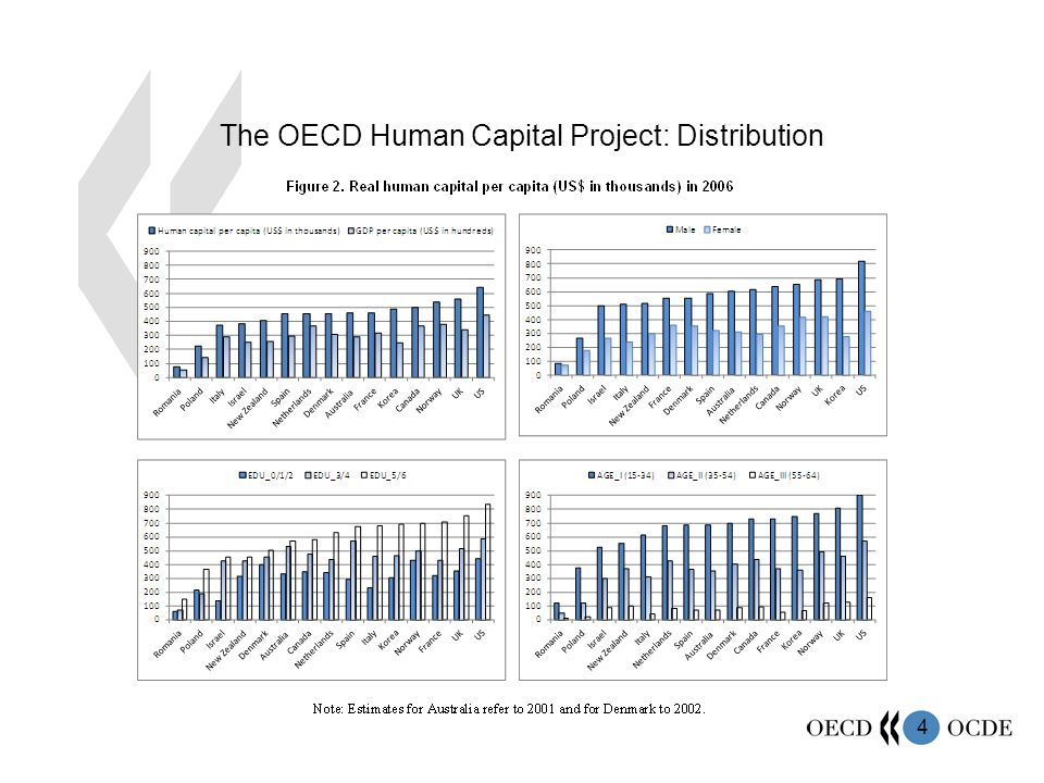 4 The OECD Human Capital Project: Distribution