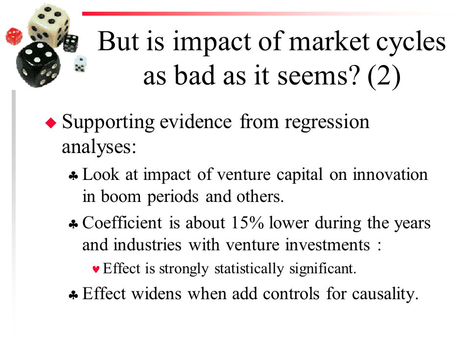 But is impact of market cycles as bad as it seems.
