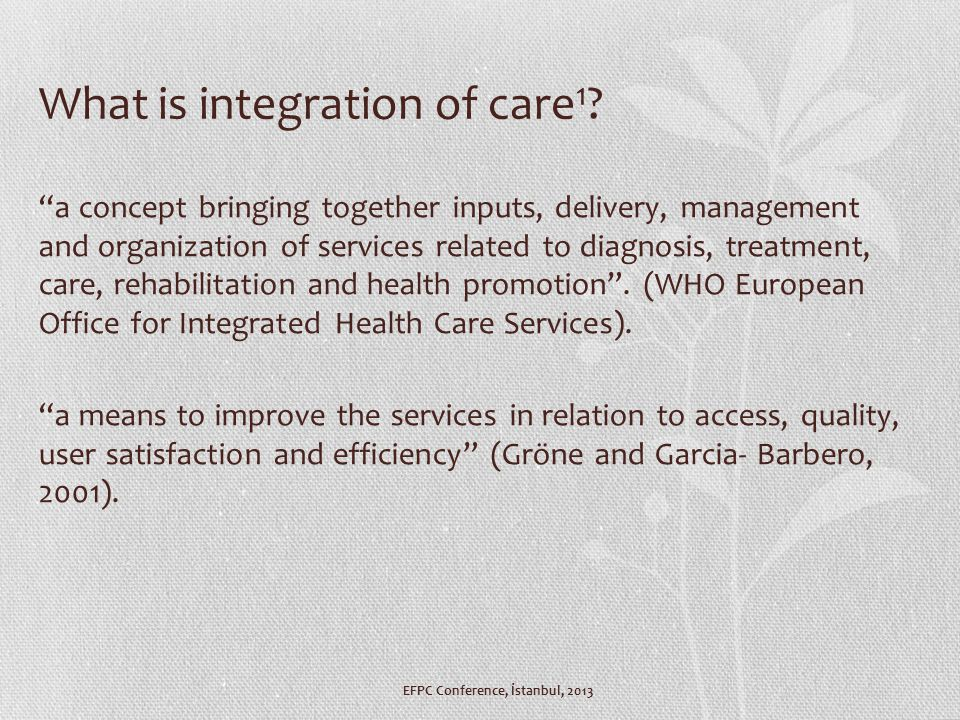 Why is it needed 1 .Poor quality of care being delivered to those with chronic conditions.