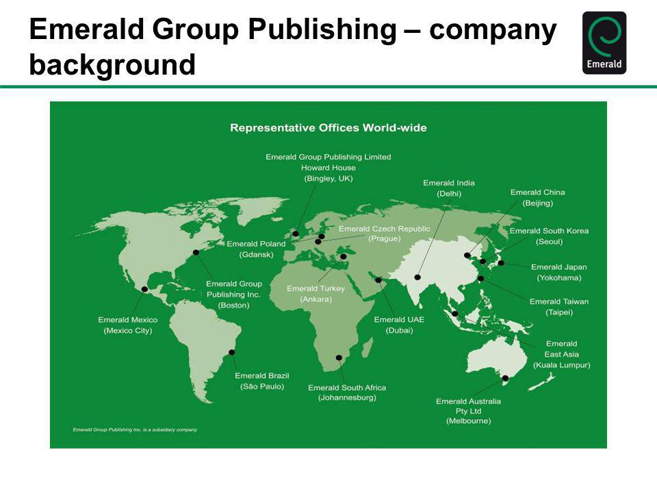 Teaching/ Learning Case Studies and Emerald Emerald Emerging Markets Case Studies collection – a welcome addition to our emerging markets content.Emerald Emerging Markets Case Studies 150 + peer-reviewed teaching cases from and about the world's most exciting economies.