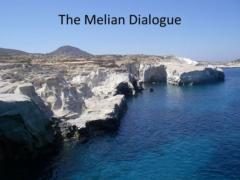 The Melian Dialogue