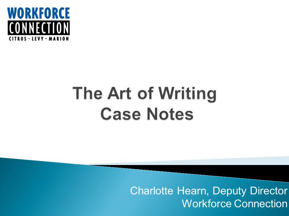 Charlotte Hearn, Deputy Director Workforce Connection