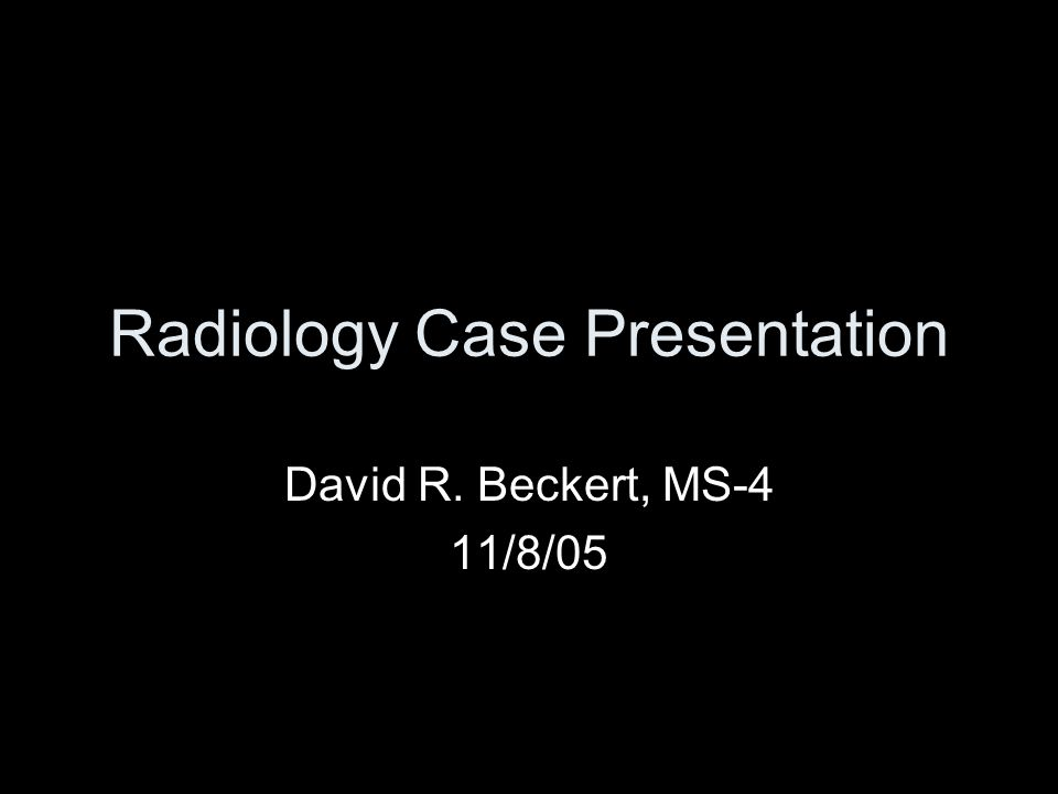 Case Background Clinical History: 22 y.o.