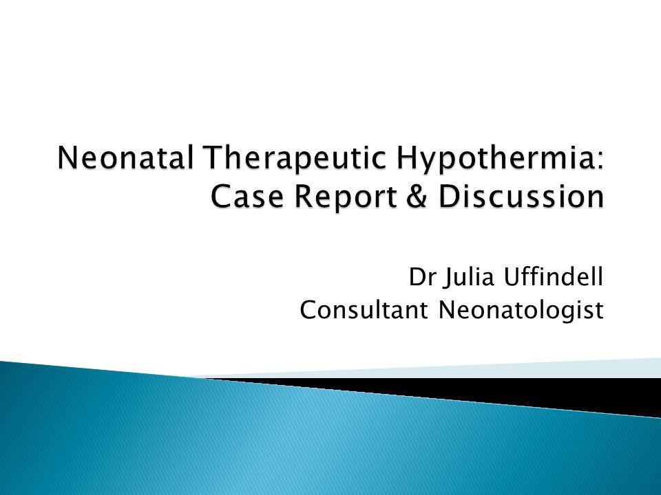 Dr Julia Uffindell Consultant Neonatologist
