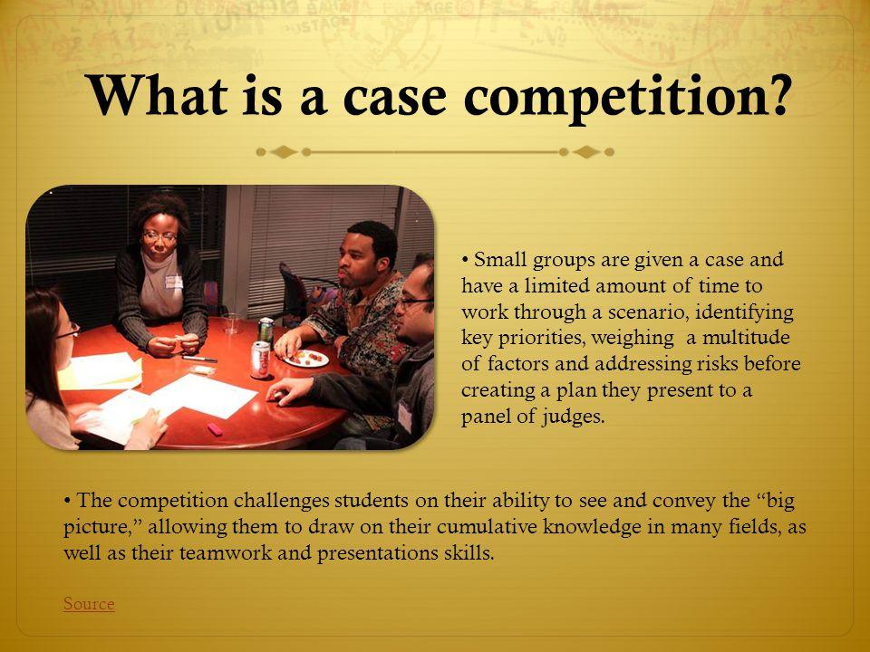 What about the Vanderbilt Case Competition.
