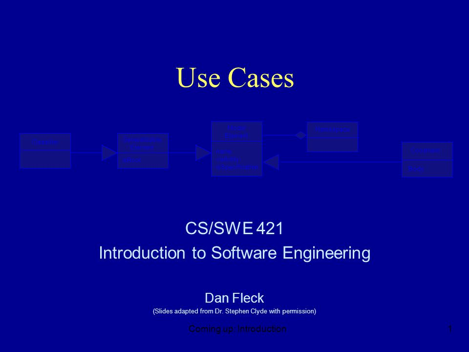 Questions n Who might be interested in reviewing or using use case diagrams.