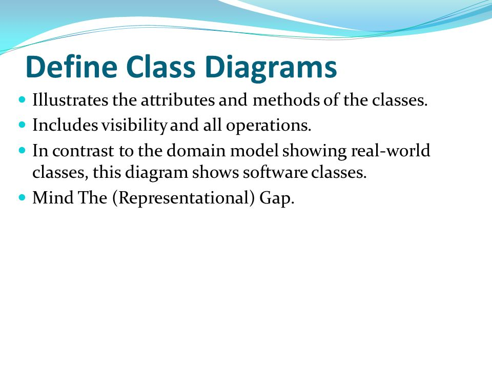 System Sequence Diagrams (example) 30