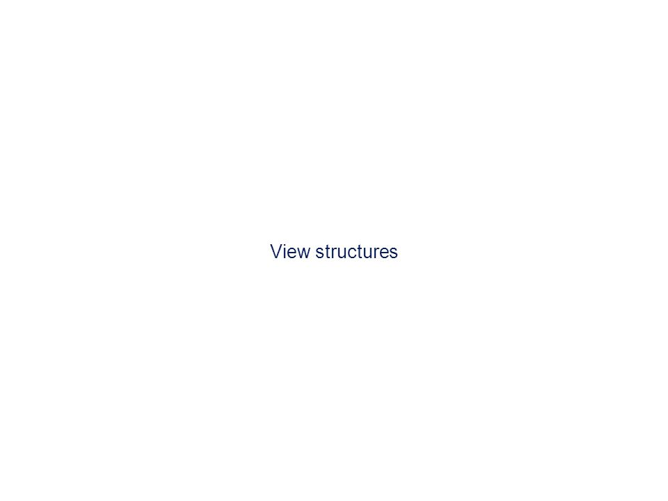 View structures